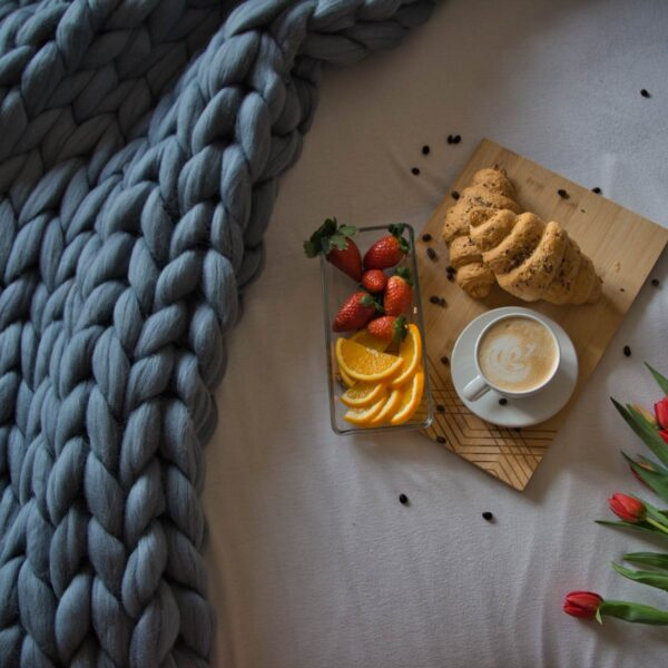 Huňatá merino deka z najlepšej európskej vlny